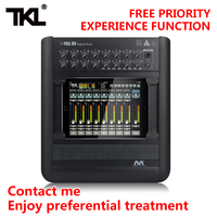 TKL M16.8 Professional audio digital mixer Ipad 16 channel USB WIFI DJ Sound Mixing For Karaoke KTV Match Party