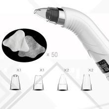Comedondrukker USB Vacuüm Acne Puistje Removal Vacuüm Zuig Tool Diamond Dermabrasie Mee eter Stofzuiger