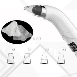 Image 1 - Removedor de cravo usb vácuo acne espinha remoção ferramenta sucção vácuo diamante dermabrasion cravo aspirador