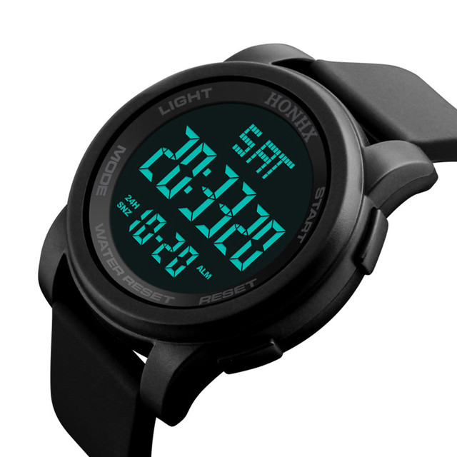 LED Waterproof Digital Quartz Fashion Watch  Sport Watch