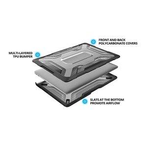 Image 2 - Para macbook ar 13 polegada caso 2018, fino emborrachado tpu amortecedor ub capa para macbook ar 13 polegada a1932 com touch id & retina display