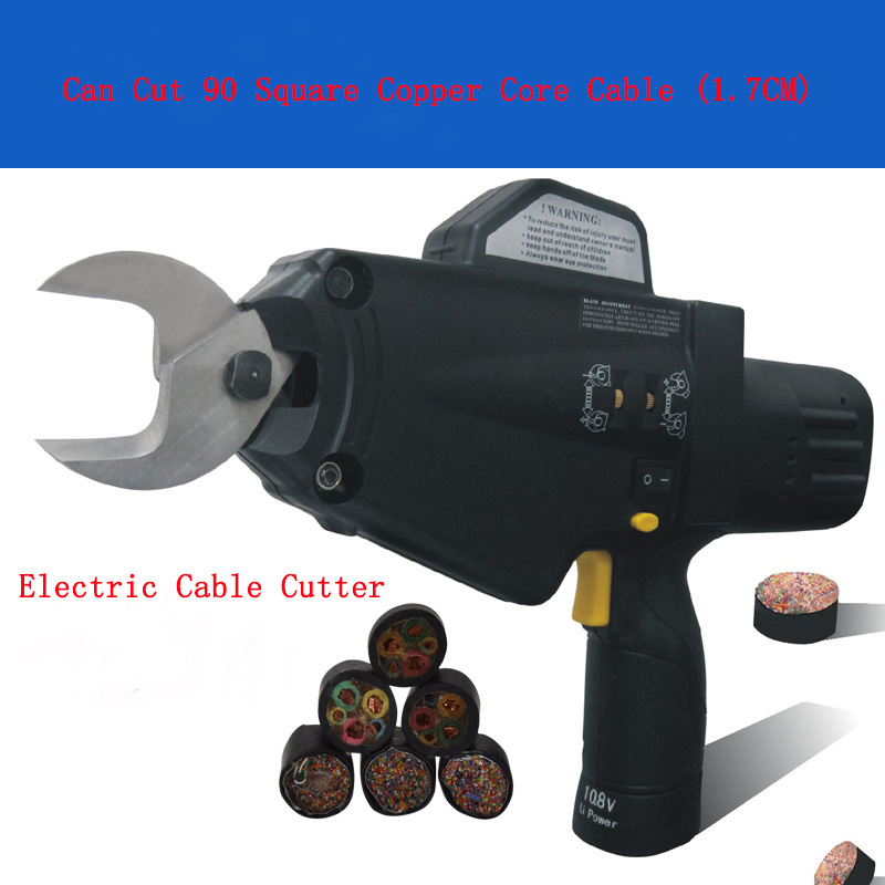 1 PC 8100 Filo Elettrico Cavo Della Batteria Forbici 10.8 V Taglio di Taglio a Filo Cavo Morsetto Bullone Cutter/Cesoie Da Giardino rami/Filo di Taglio
