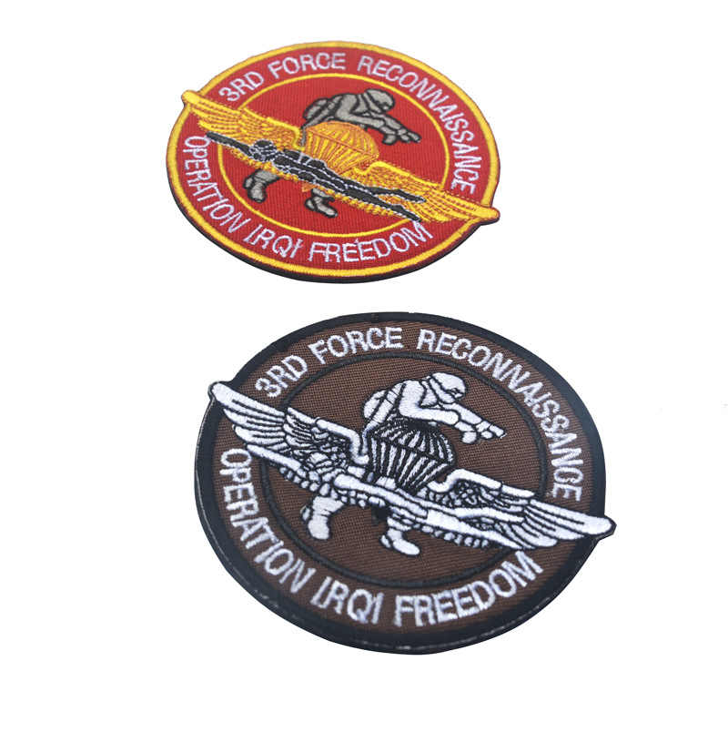 Vietnam Oorlog US Marines 3rd KRACHT VERKENNING patch USA militaire Moreel 3rd FORECON patches US army Tactical badges voor jas