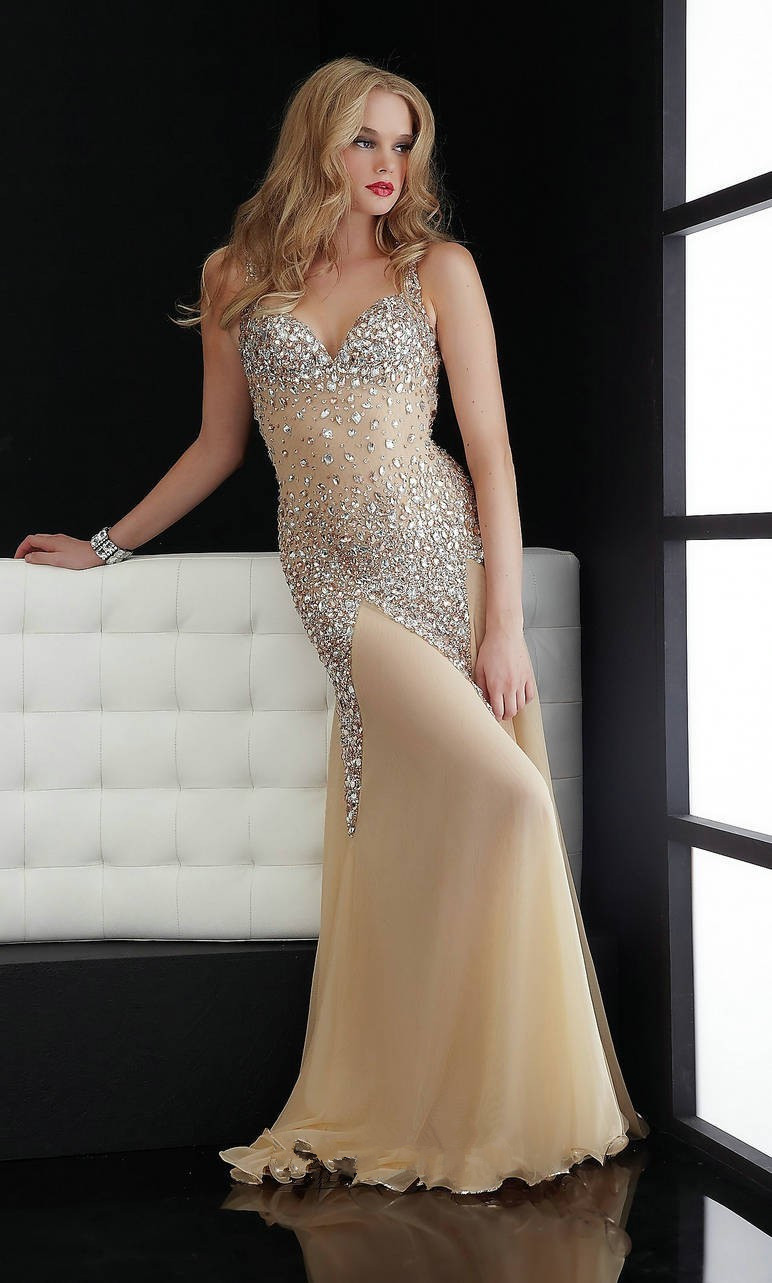 b84a8bf5a051 A-483 Heavy Beaded Crystal Mermaid Prom Dress 2017 Chiffon Sexy Long Formal  Evening Gown Strapless Cheap Prom Party Dress