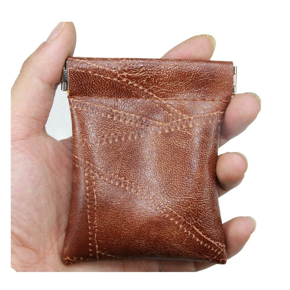 Lralra Faux Sheepskin Pu Leather Coin Purse Women Men Short Wallet Small Bag Pocket Money Change Key Card Holder Kid Party Gift
