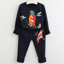 Autumn Winter Toddler Girls Clothes Costume Outfits Kids Clothes Tracksuit Suit For Girls Clothing Sets