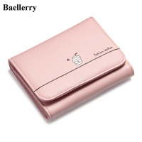 New Designer Brand Leather Wallets Women Short Coin Purses Money Bags Credit Card Holders Wholesale Price