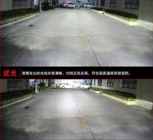 Image 5 - Luz delantera de coche para pantalla de vídeo RHD LHD, faros delanteros NV200 de 2009 a 2014, faro delantero NV200 NV 200 DRL HI LO HID de xenón