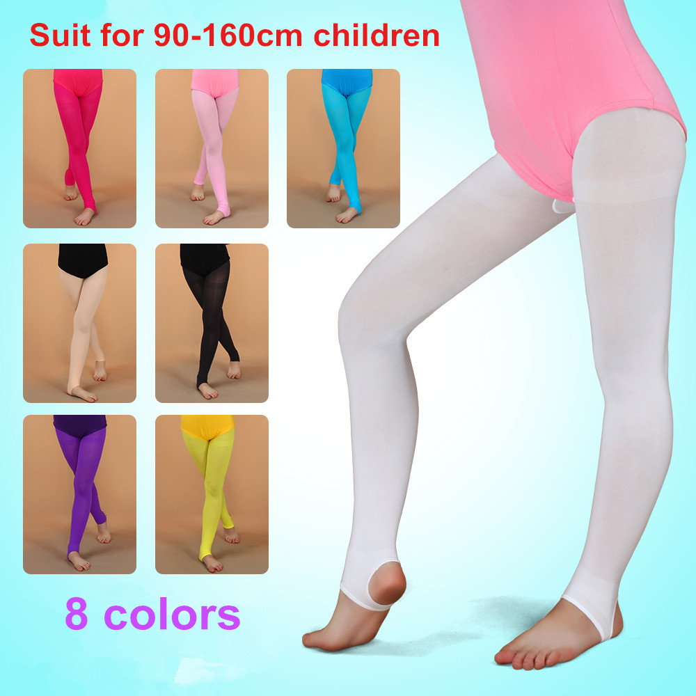 Summer Child Dance Sock Velvet Ballet Pantyhose Girls Soft Elastic Collant Ballet Tights Leotard Ballerina Professional Leggings