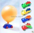 Fiesta de cumpleaños de niños profesional globo helicóptero globo de juguete inflable del coche, 10 unids/lote
