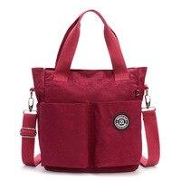 JINQIAOER Women Nylon Waterproof Shoulder Bag Luxury Handbags Women Messenger Bags Designer Multifunction Zipper Travel Bolsa