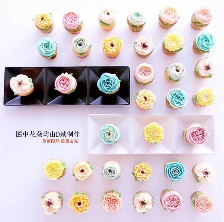 Stainless Steel Piping Tips Chart Cake Cupcake Decorator Russian Tip For Nozzle Pastry Tools Icing Nozzles On Aliexpress Alibaba