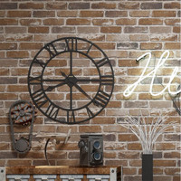 Brick wallpaper 3d Suppliers High Quality 3d brick wallpaper stone wall paper faux brick wallpaper 3d Living Room Sofa wallpaper