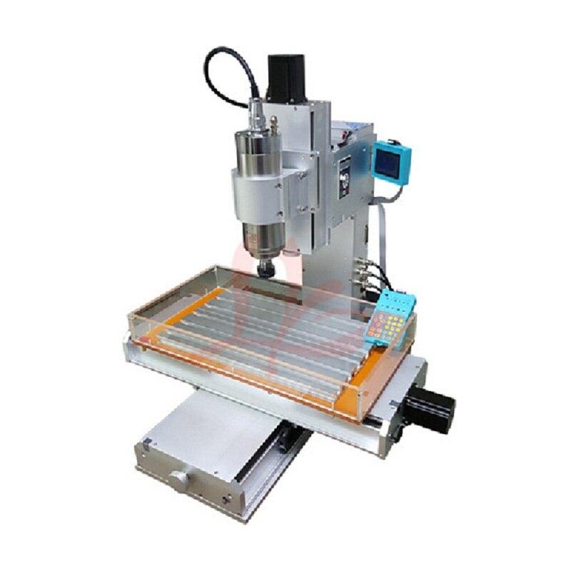 3 axis pillar type metal engraver mini cnc router 3040 Ball Screw Table Column Type woodworking cutting machine