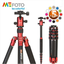 MeFOTO A1350Q1 Creative Tripod Kit Professional Bracket With Stable Ball Head Portable Aluminum Digital Camera Tripod For Nikon