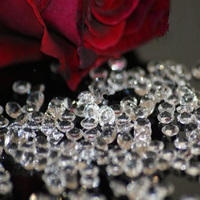 Stock Promotion 5packs LOT 2000pcs Pack 10 MM Clear DIAMONDS WEDDING Confetti Gems Table Scatter Crystals
