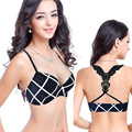 push up back double straps brand bra set smooth seamless underwear sexy panties and  lingerie bralette balaloum sujetador encaje