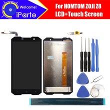 5.0 inç HOMTOM ZOJI Z8 LCD ekran + dokunmatik ekranlı sayısallaştırıcı grup 100% orijinal yeni LCD + dokunmatik Digitizer için ZOJI Z8 + araçları
