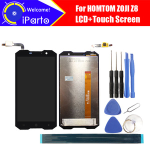Image 1 - 5.0 inch HOMTOM ZOJI Z8 LCD Display+Touch Screen Digitizer Assembly 100% Original New LCD+Touch Digitizer for ZOJI Z8+Tools
