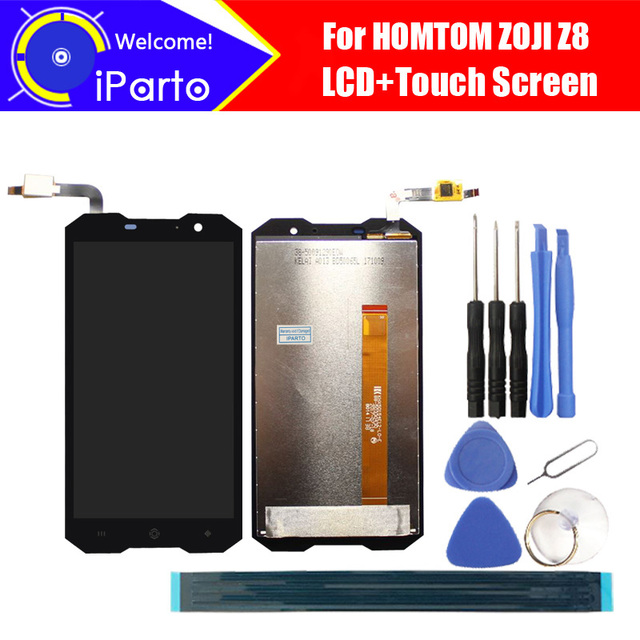 5.0 inch HOMTOM ZOJI Z8 LCD Display+Touch Screen Digitizer Assembly 100% Original New LCD+Touch Digitizer for ZOJI Z8+Tools