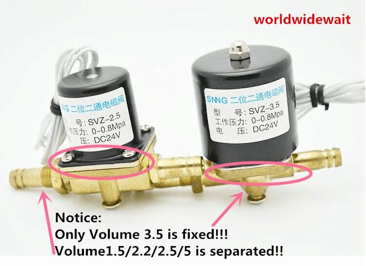 1 ADET AC36V Elektrikli Kaynak Makinesi Selenoid Vana Manyetik Vanalar1 ADET AC36V Elektrikli Kaynak Makinesi Selenoid Vana Manyetik Vanalar
