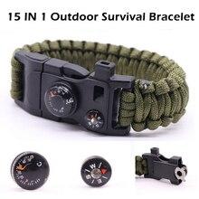 Kids Toy Survival Parachute Rope Bracelet 15 In