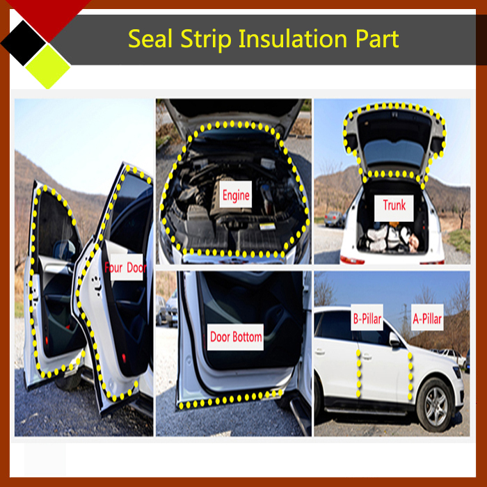 Car Rubber Seal Strip Trim Weatherstrip Waterproof Direct Replacement For Sagitar Trunk Door Edging Engine-in Fillers Adhesives u0026 Sealants from Automobiles ... & Free Shipping ! Car Rubber Seal Strip Trim Weatherstrip Waterproof ...