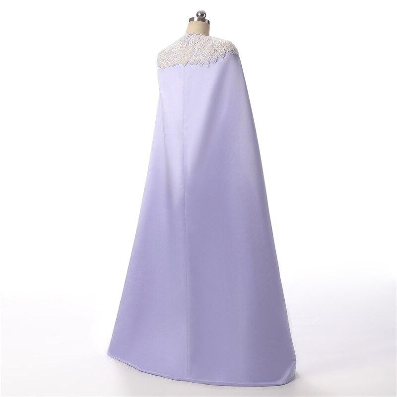 Doragrace Mode Drapieren Zwei Stück Watteau Zug Einfache Wunderschöne Abendkleid Formale Party Kleider - 5