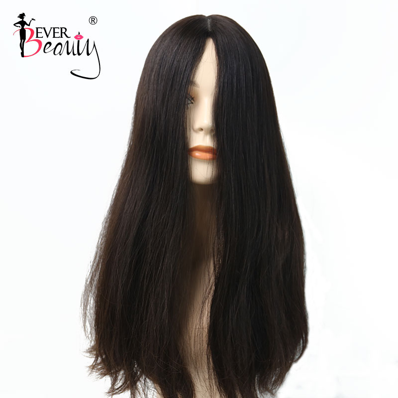 Kosher Wig Straight Jewish Wig 100% European Human Hair Wigs Natural Human Hair #4 Color Wigs Double Drawn Ever Beauty Remy Hair