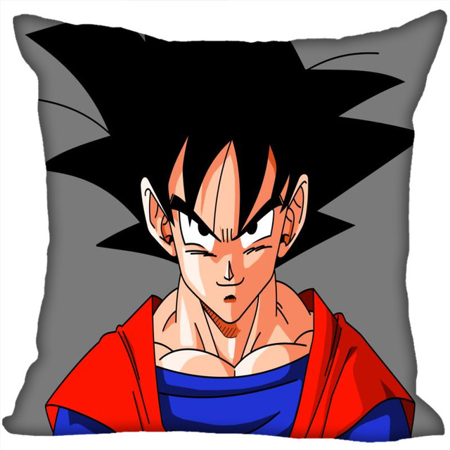 Custom Anime Goku Pillow Cases dragon ball Z Square Pillowcase