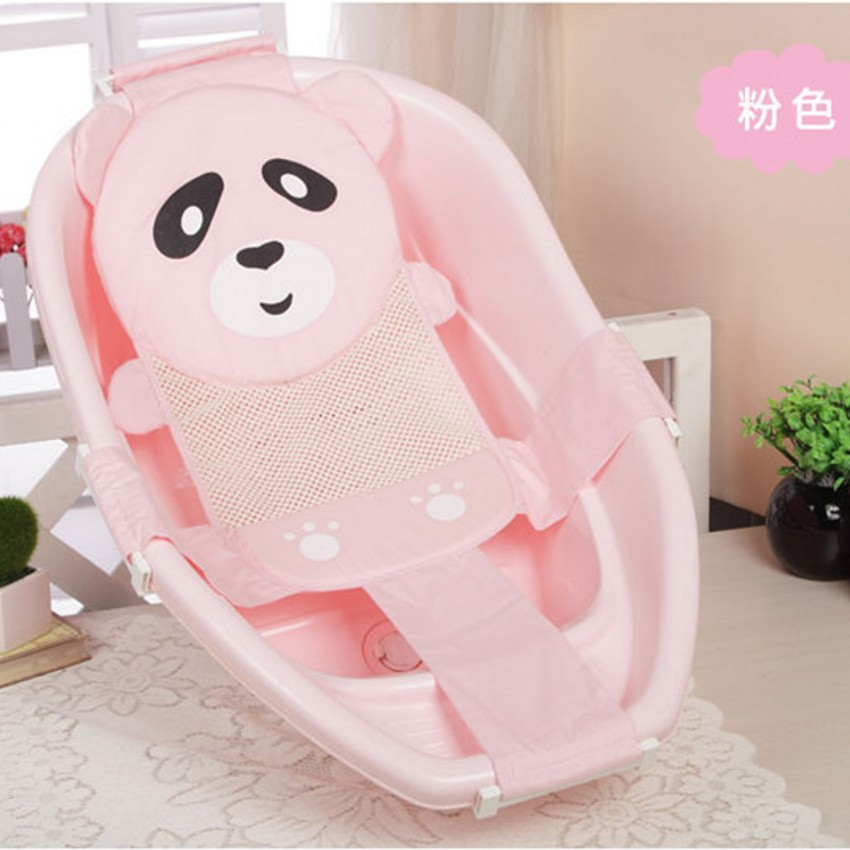 New Cartoon Panda Adjustable Newborn Baby Bath Chair Seat Non Slip ...