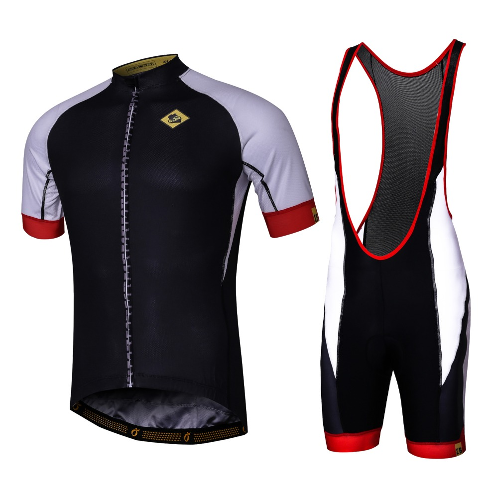 Summer Short Sleeve Breathable Cycling Jerseys and Bib shorts Quick-Dry  Bike wear Ropa Ciclismo Best Quality Cycling Clothing edf32802a