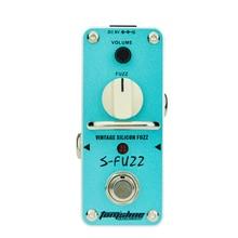 Aroma ASF-3 S-Fuzz Vintage Silicon Fuzz Electric Guitar Effect Pedal Mini Single цена