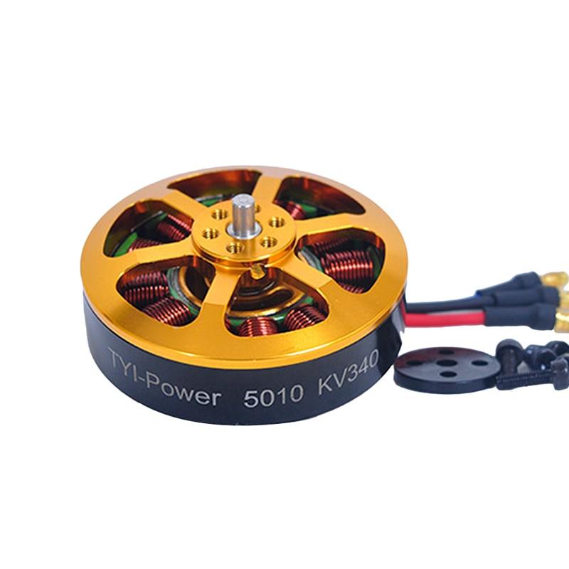 1 unids 5010 Motor sin escobillas KV340 KV280 para Agricultura UAV RC - Juguetes con control remoto