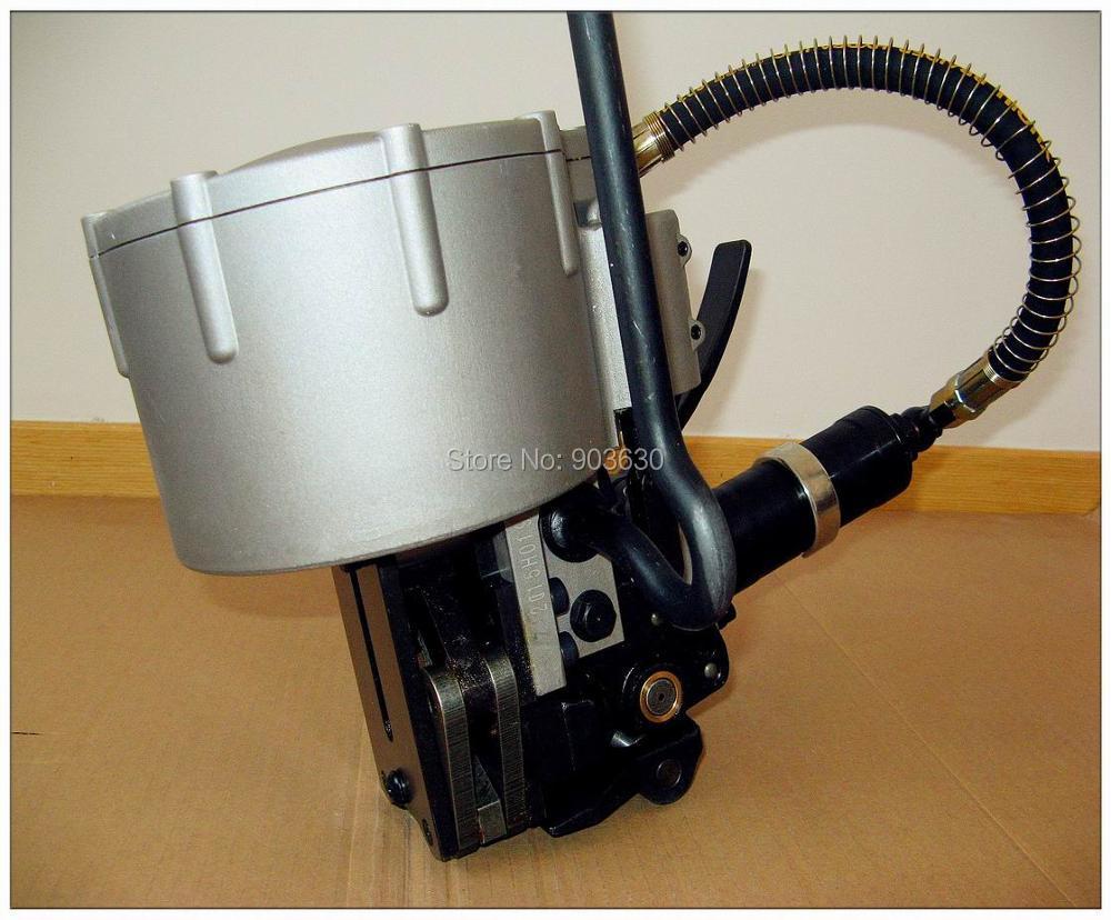 Pneumatyczne narzędzie do spinania taśm stalowych KZ-32, stalowa - Elektronarzędzia - Zdjęcie 2