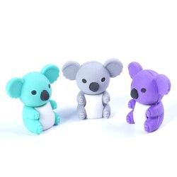 1 шт. Красивая коала моделирование ластик Kawaii канцелярский школьный офисный коррекция поставки детские игрушки подарки