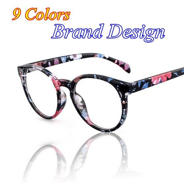 2016 Brand Design femmes dames lunettes plaine