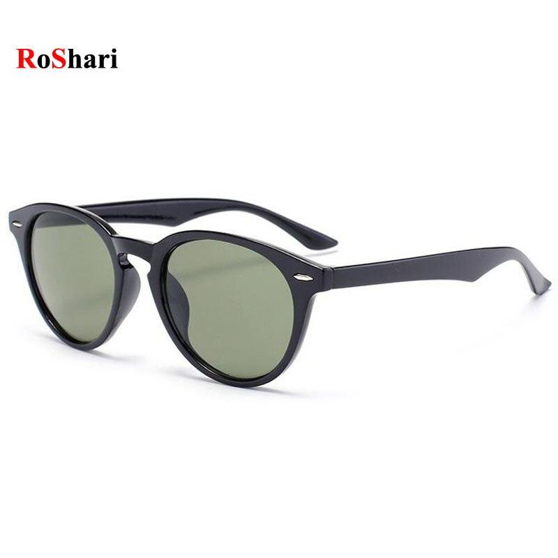 Black Frame Designer Glasses : Aliexpress.com : Buy RoShari Vintage men Sunglasses women ...