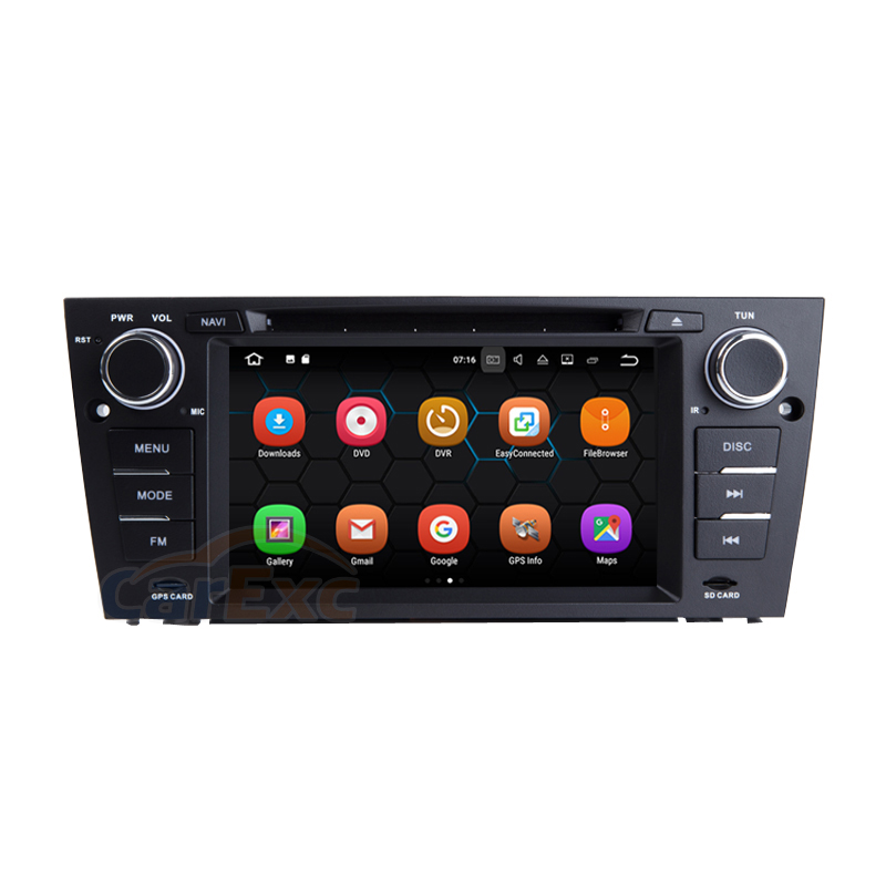 2G RAM Android 9.0 OS <font><b>Car</b></font> Multimedia Stereo Player For BMW E90 E91 Old 3 Series AutoRadio With <font><b>GPS</b></font> Navigation WiFi Head Unit image