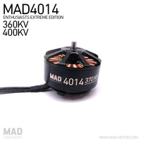 MAD 4014 KV360 KV400 Brushless Quadcopter Motor For Endurance Flight UAV Drone Quadcopter Hexcopter Octcopter with EZO bearing