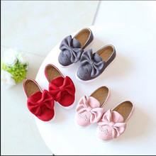 Fashion Children Shoes New Kids Shoes For Girls Bow Cute Toddler Kids Sneakers Breathable Baby Girls Shoes
