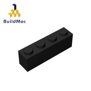 Image 4 - Buildmoc互換アセンブル粒子レンガ3010 1 × 4ビルディングブロックの部品diyロゴ教育創造ギフトのおもちゃ