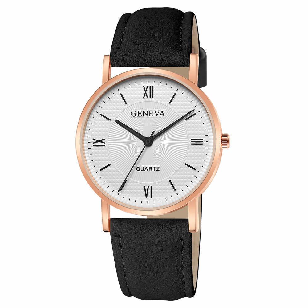 스포츠 시계 아날로그 석영 새로운 패션 여성 가죽 아날로그 석영 다이아몬드 손목 시계 시계 메쉬 크리 에이 티브 대리석