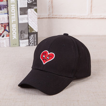 Newest Heart Cap Trend Hip Hop Dad Hat Snapback Kanye Fashion King For Men Women Cotton Baseball Demon Xin hat