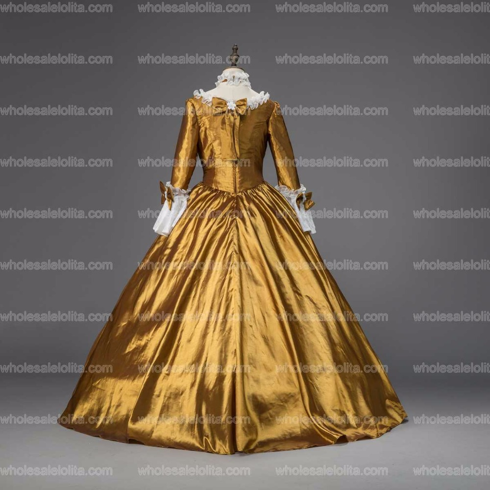 Georgian Period Christmas Ball Gown Marie Antoinette Renaissance Holiday  Dress Theater Clothing -in Lolita Dresses from Novelty   Special Use on ... 29c49d66ae68