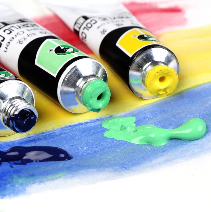 Materiais de Arte para Escrever Conjunto Oleoso 24/36/48/72 Cores Desenho