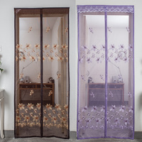 Mosquito Net Screen Door Magnets Summer Anti Fly Curtain For Door Insect Automatic Closing Kitchen Mesh