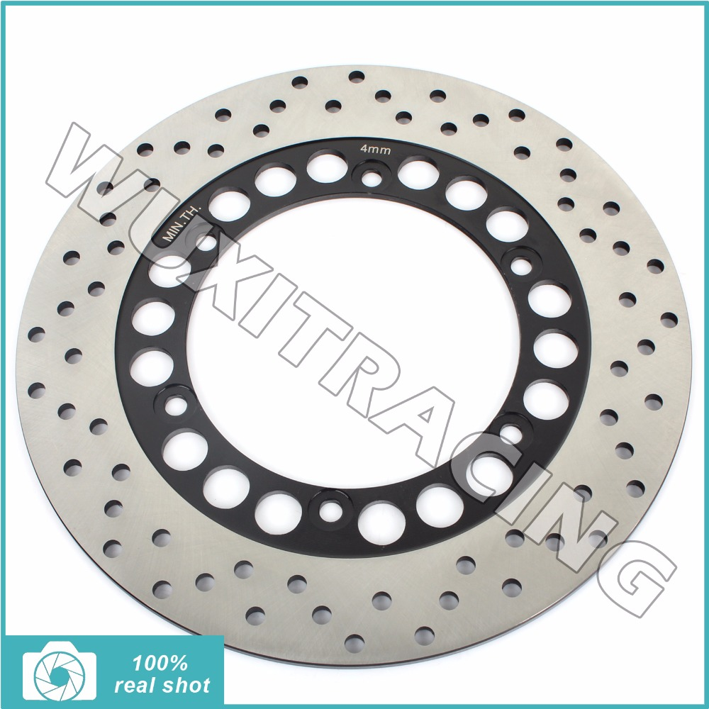 Rear Brake Disc Rotor for YAMAHA BT 1100 Bulldog 02-06 03 05 XJR 1200 1300 SP 94-11 95 96 97 98 99 00 01 MT-01 MT01 1670 04-09 94 95 96 97 98 99 00 01 02 03 04 05 06 new 300mm front 280mm rear brake discs disks rotor fit for kawasaki gtr 1000 zg1000