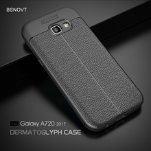 For Samsung Galaxy A7 2017 Case A720 Soft TPU Silicone Shockproof Cover