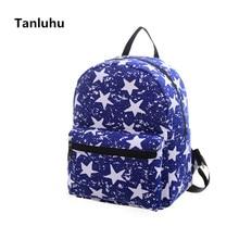 TANLUHU Женская мода небольшой рюкзак женский милый дорожный Рюкзак Mochila для девочек-подростков школьные книга рюкзаки
